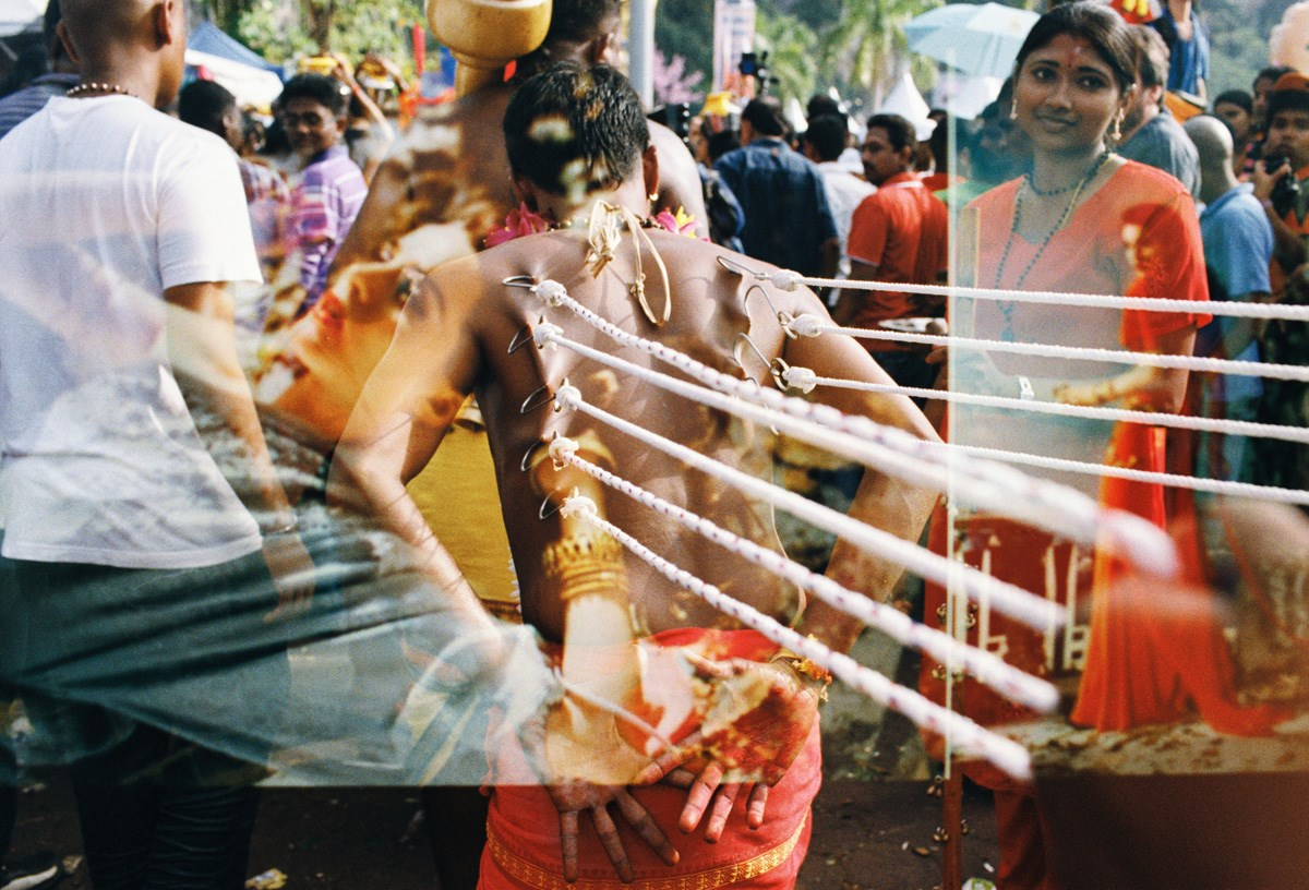 Here comes Thaipusam